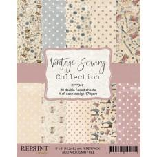 Reprint - Vintage Sewing Collection - 6x6 Inch Paper Pack