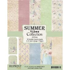 Reprint - Summer Vibes Collection - 6x6 Inch Paper Pack