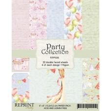 Reprint - Party Collection - 6x6 Inch Paper Pack