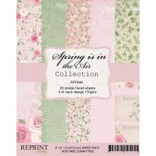 Reprint - Spring is in the Air Collection - 6x6 Inch Paper Pack