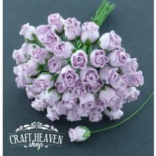 Lilac Hip Rosebuds - 10mm