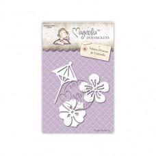 Sakura Flowers & Umbrella - Magnolia