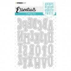 Cutting Die Essentials - Alphabet Tall nr.40 - Studio Light