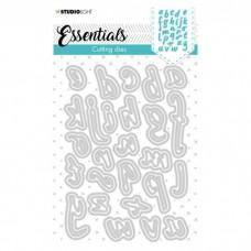 Cutting Die Essentials - Alphabet Handletters nr.41 - Studio Light