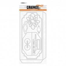 Grunge Collection Cutting Die - Envelope Slimline nr.27 - Studio Light