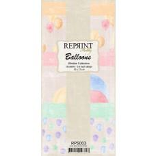 Reprint - Balloons Slimline Paper Pack