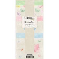 Reprint - Butterflies Slimline Paper Pack