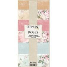 Reprint - Roses Slimline Paper Pack