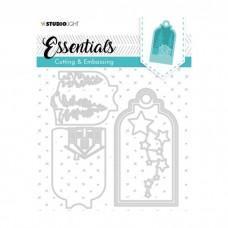 Embossing Die Cut Essentials Nr.320 - Studio Light