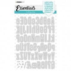Cutting Die Alphabet Tall Essentials Nr.390 - Studio Light