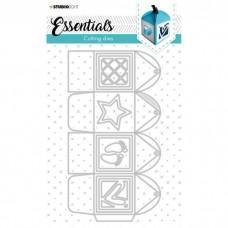 Cutting Die Giftbox Square Essentials Nr.393 - Studio Light