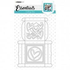 Cutting Die Giftbox Multi Merci Essentials Nr.394 - Studio Light