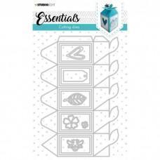 Cutting Die Giftbox Hexagon Essentials Nr.395 - Studio Light