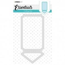 Cutting Die Cardshape Ticket Essentials Nr.397 - Studio Light