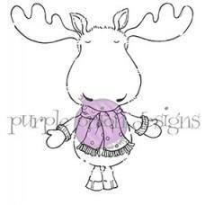 Spruce (Moose) - Purple Onion Designs