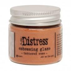 Distress Embossing Glaze - Tattered Rose