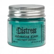 Distress Embossing Glaze - Salvaged Patina