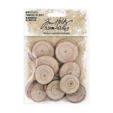 Tim Holtz - Idea-Ology - Wood Slices