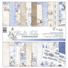 Set of papers - Winter Tales - 30,5 x 30,5 cm - Laserowe LOVE