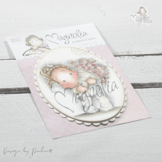 Wrapped Bouquet Tilda - Magnolia