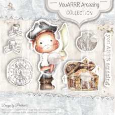 You Arrr Amazing Art Stamp Sheet - Magnolia