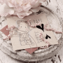 Yay! Rubber Stamp Sheet - Magnolia